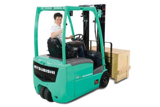 Nauji elektriniai Mitsubishi krautuvai